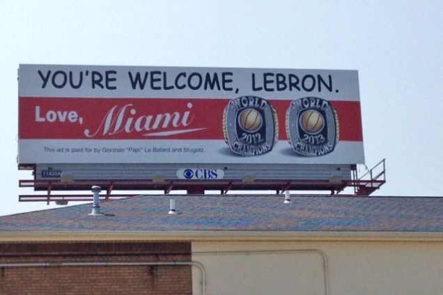 From Le Batard, To LeBron