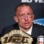 GSP Face after Johny Hendricks fight