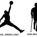 Jordan vs Kobe logo