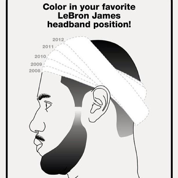 LBJ's Headband Over The Years