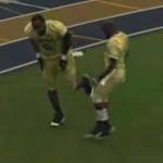LeBron James touchdown dance