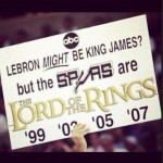 Lord of the rings spurs sign