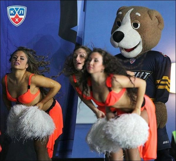 Being A Mascot…