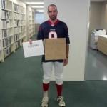 Matt Schaub Halloween Pick 6 costume