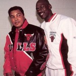 Muhammad Ali and Michael Jordan