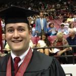 Nick Saban 'photobomb' at Alabama commencement ceremony