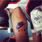 Nike Air Tattoo