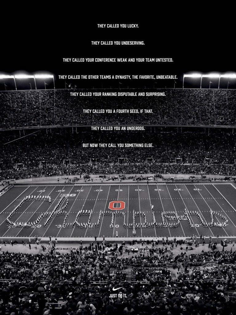 Well Done Nike…