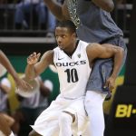 Oregon Point Guard Defends Center Makes for a Ridiculous Photo