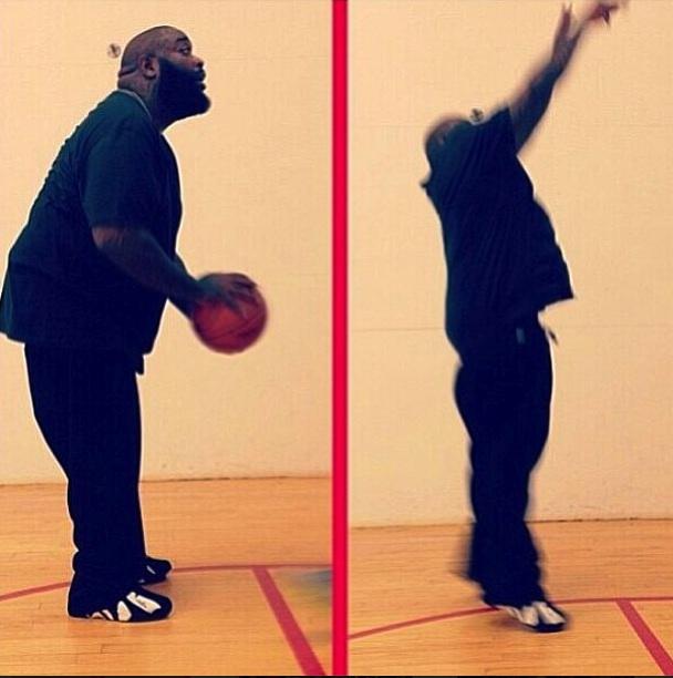 Rick Ross Jump Shot…