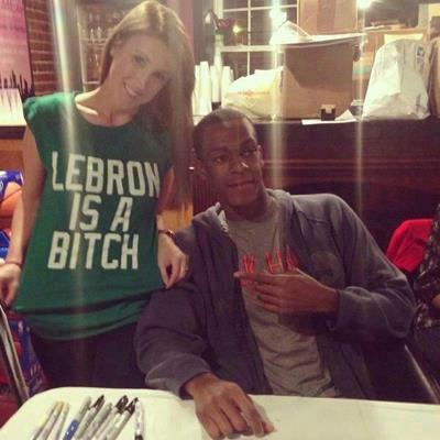 Lebron is a B#tch T-Shirt!