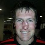 Rugby player Ernst Jouberts broken nose