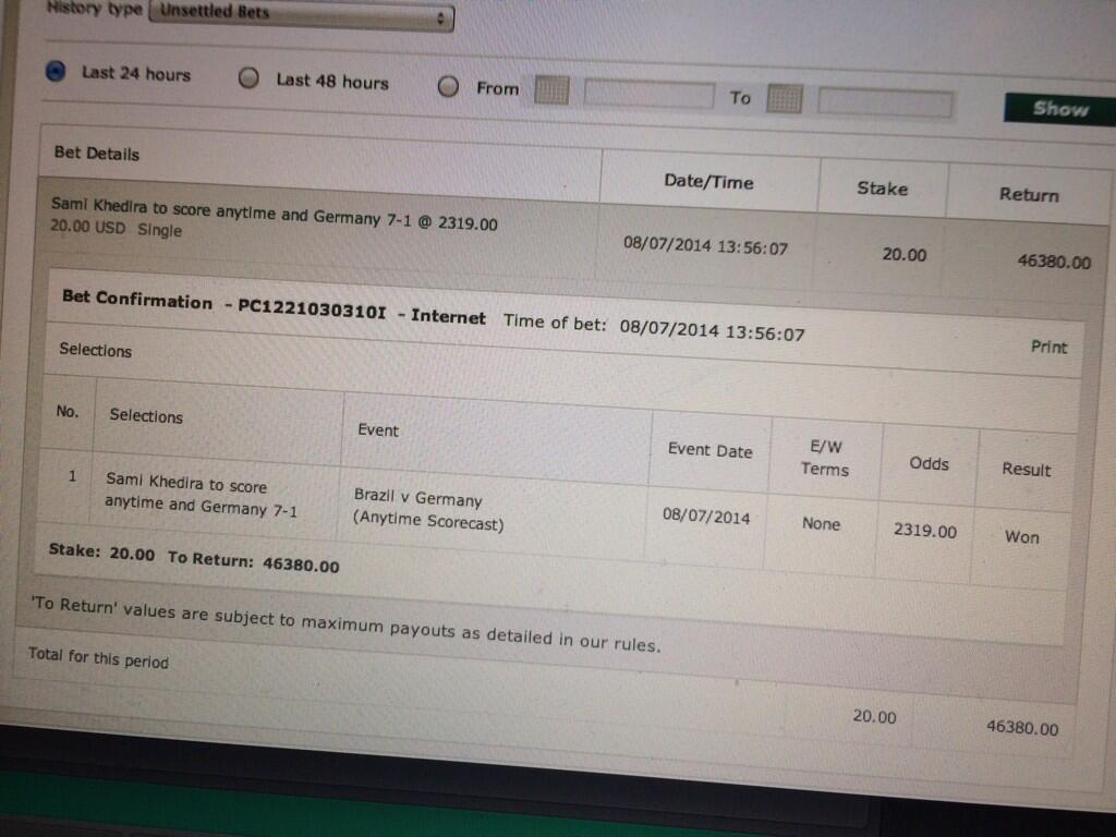 SICKEST bet ever!!