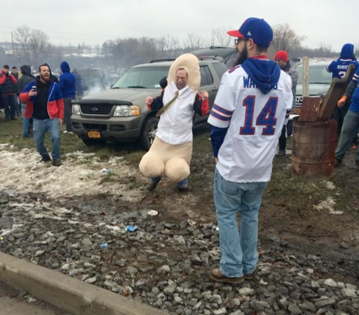 Tailgating At It's Finest…