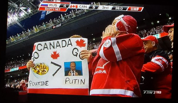 Give This Fan A Gold Medal!