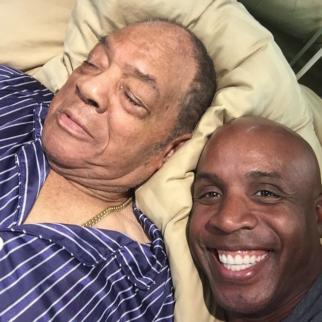 Bonds and Mays Selfie…