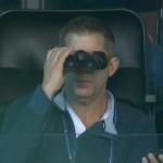 Sean Payton binoculars wrong way