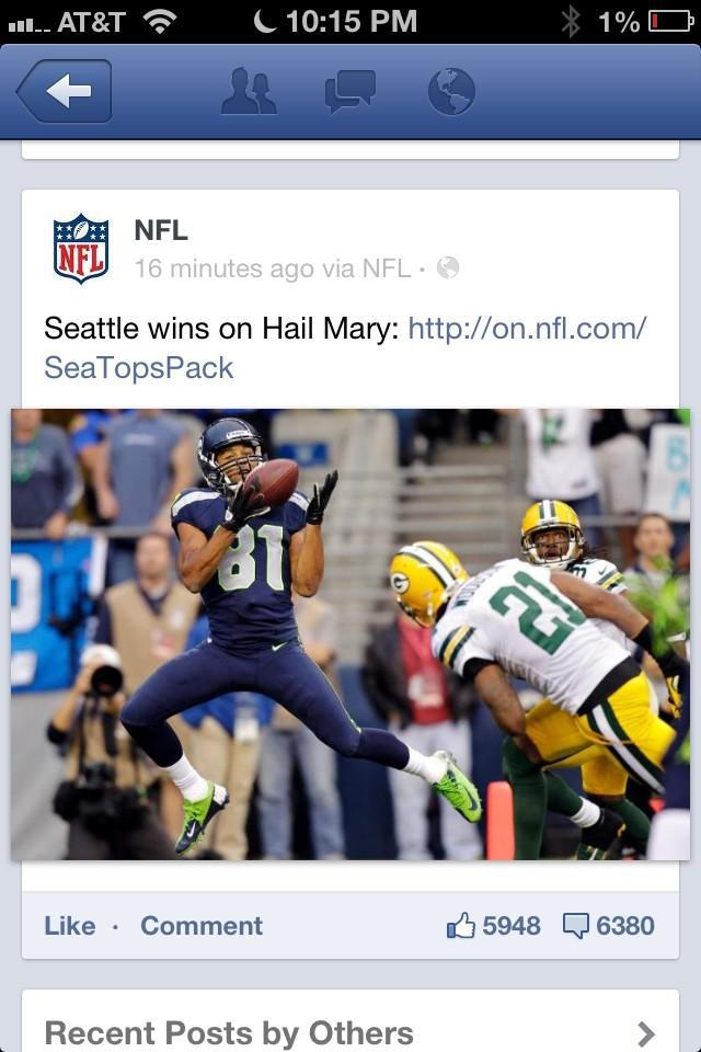 Common NFL… Really?