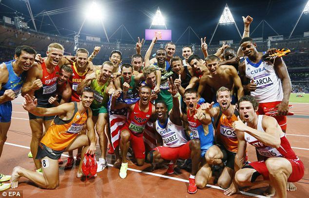 Olympic Sportsmanship!