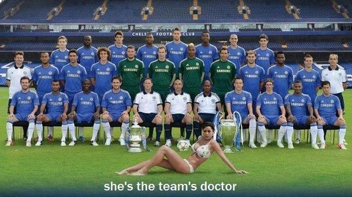 She's The Team Doctor!