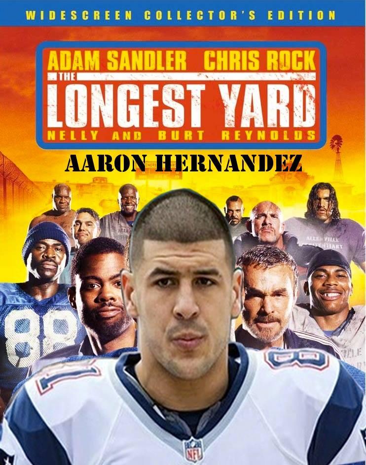 Staring Aaron Hernandez
