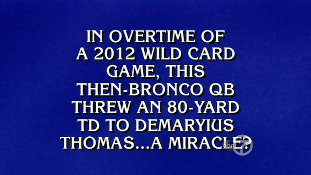 Who is Tim Tebow?