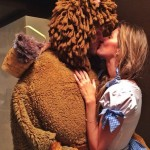 Tom Brady Was The Cowardly Lion And Gisele Was Dorothy For Halloween