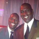 Tyrese Gibson Sees a Resemblance to Michael Jordan in His Photo