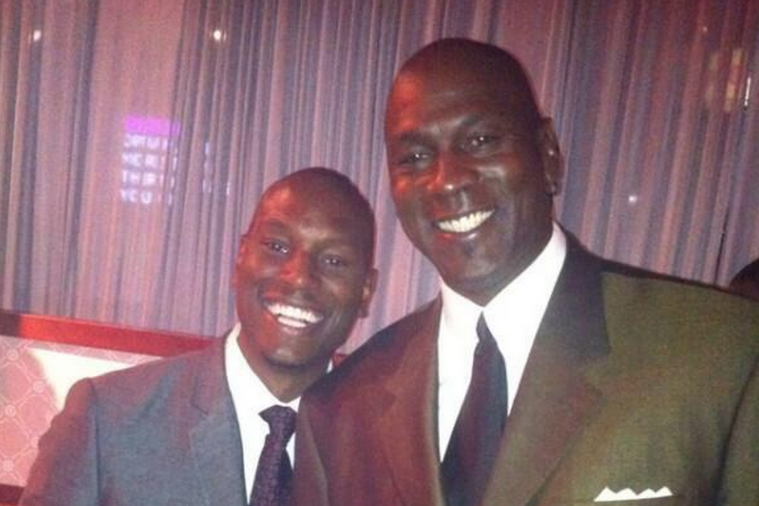 Tyrese Gibson and Jordan are Twins