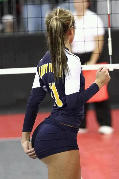 Volleyball Bum… Photoshopped?