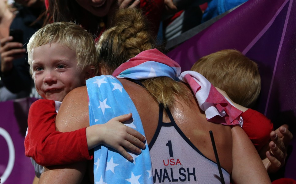 A Great Olympic Moment!