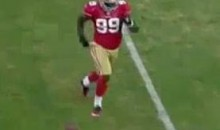 49ers' Aldon Smith Shows Us How To Celebrate A Sack (Video)