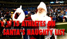 15 Athletes On Santa's Naughty List in 2011