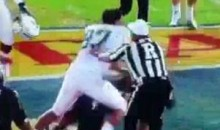 Here's The Brawl That Nearly Broke Out At The Beef 'O' Brady's Bowl (Video)