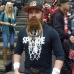 bengals fan basketball net beard