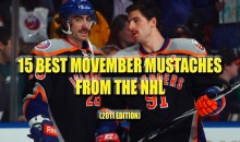 15 Best Movember Mustaches From The NHL