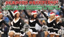 The 15 Best Christmas Themed Cheerleader Uniforms In The NFL