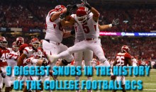 9 Biggest Snubs In The History Of The College Football BCS