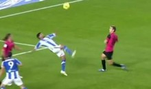 Carlos Vela's Bicycle Kick Goal Sparks Real Sociedad Comeback (Video)