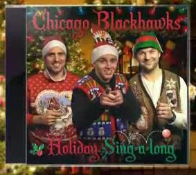 the chicago blackhawks holiday sing a long album is as bad as you expected video total pro sports - Blackhawks Christmas