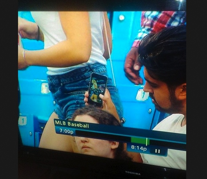 Creeper At The Jays Game…