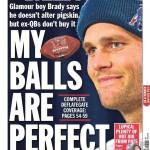 daily news tom brady cover page