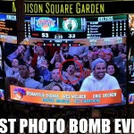 demaryius thomas wes welker eric decker photo bombed at knicks game