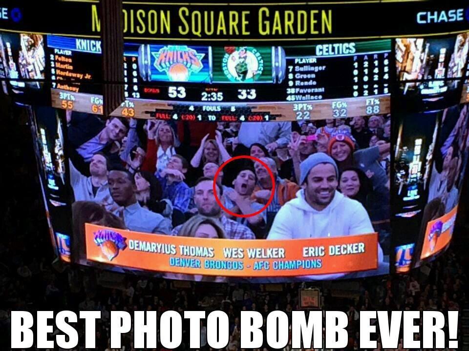 BEST. PHOTO.BOMB.EVER!