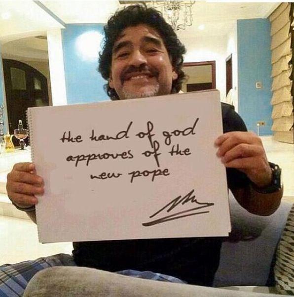 Maradona Approves…