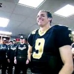 drew brees record breaking speech