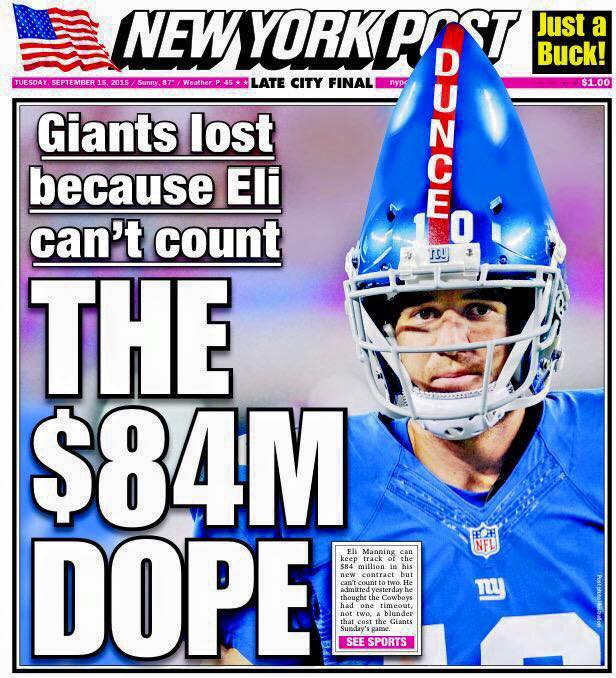 The New York Post Trolling…