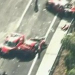ferrari crash japan