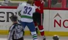 Frozen Fisticuffs Fight Of The Night — Foligno vs. Weise — 12/10/11