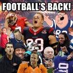 footballs back
